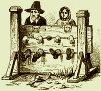 Colonial Punishments For Kids Hause Family - John Ha...